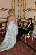 LADY GEORGIE CAMPBELL; MISS ALEXANDRA MATHEW; PRINCE ROSTISLAV ROMANOV, The 20th Russian Summer Ball, Lancaster House, Proceeds from the event will benefit The Romanov Fund for RussiaLondon. 20 June 2015