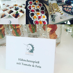 """Claudia Effenberg releases a photo on Instagram with the following caption: """"Das ist mal lecker Catering @unikorn.laden"""". Photo Credit: Instagram *** No USA Distribution *** For Editorial Use Only *** Not to be Published in Books or Photo Books ***  Please note: Fees charged by the agency are for the agency's services only, and do not, nor are they intended to, convey to the user any ownership of Copyright or License in the material. The agency does not claim any ownership including but not limited to Copyright or License in the attached material. By publishing this material you expressly agree to indemnify and to hold the agency and its directors, shareholders and employees harmless from any loss, claims, damages, demands, expenses (including legal fees), or any causes of action or allegation against the agency arising out of or connected in any way with publication of the material."""