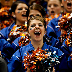 Jan 2, 2013; New Orleans, LA, USA; Florida Gators gatorettes perform prior to kickoff of the Sugar Bowl against the Louisville Cardinals at the Mercedes-Benz Superdome.  Mandatory Credit: Derick E. Hingle-USA TODAY Sports