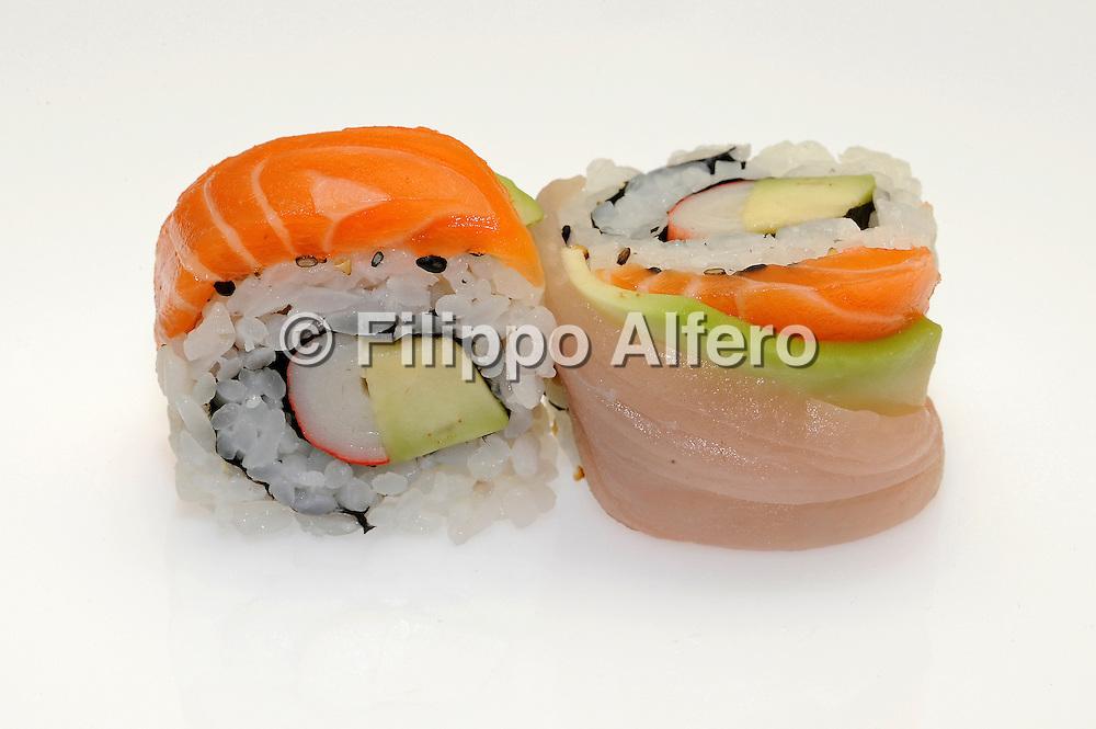 &copy; Filippo Alfero<br /> Kombu sushi - still life<br /> Torino, 07-12/05/2010