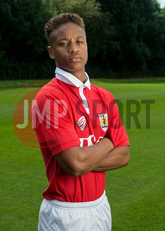 Bristol City's Bobby Reid  - Photo mandatory by-line: Joe Meredith/JMP - Mobile: 07966 386802 05/08/2014 - SPORT - FOOTBALL - Bristol - Ashton Gate - Press Day