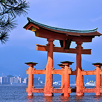 Great Torii at Miyajima, Japan<br />