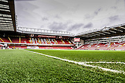 Brammall Lane stadium during the The FA Cup match between Sheffield Utd and Oldham Athletic at Bramall Lane, Sheffield, England on 5 December 2015. Photo by Simon Davies.