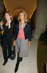 SABRINA GUINNESS at an exhibition of David Hockney portraits at the National Portrait Gallery sponsored by Burberry on 11th October 2006.<br /><br />NON EXCLUSIVE - WORLD RIGHTS
