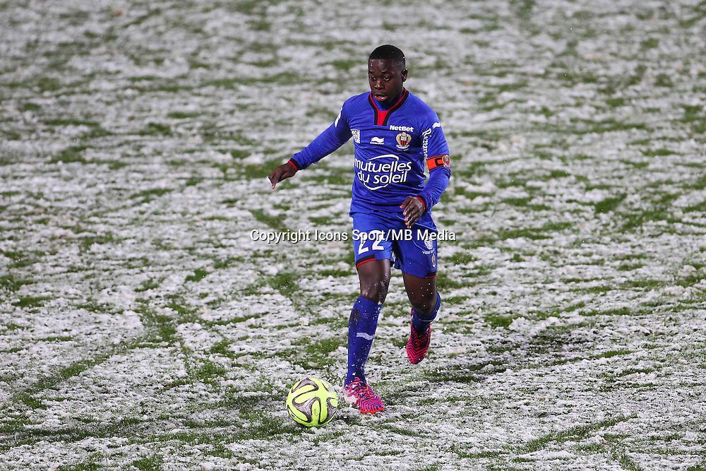 Nampalys MENDY - 31.01.2015 - Metz / Nice - 23eme journee de Ligue 1<br />Photo : Fred Marvaux / Icon Sport