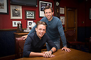 Scott Allan and Dundee&rsquo;s manager Neil McCann pictured in the Dens Park boardroom after the Celtic midfielder had signed for the Dark Blues on a year long loan, Photo: David Young<br /> <br />  - &copy; David Young - www.davidyoungphoto.co.uk - email: davidyoungphoto@gmail.com