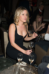 LUCY ATTWOOD at the Tatler Little Black Book Party at Home House Member's Club, Portman Square, London supported by CARAT on 11th November 2015.