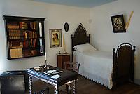 Italie. Sardaigne. Nuoro. Maison de Grazia Deledda, prix nobel de litterature de 1926. // Italy. Sardinia. Nuoro. House of Grazia Deledda, Literature Nobel prize of 1926.