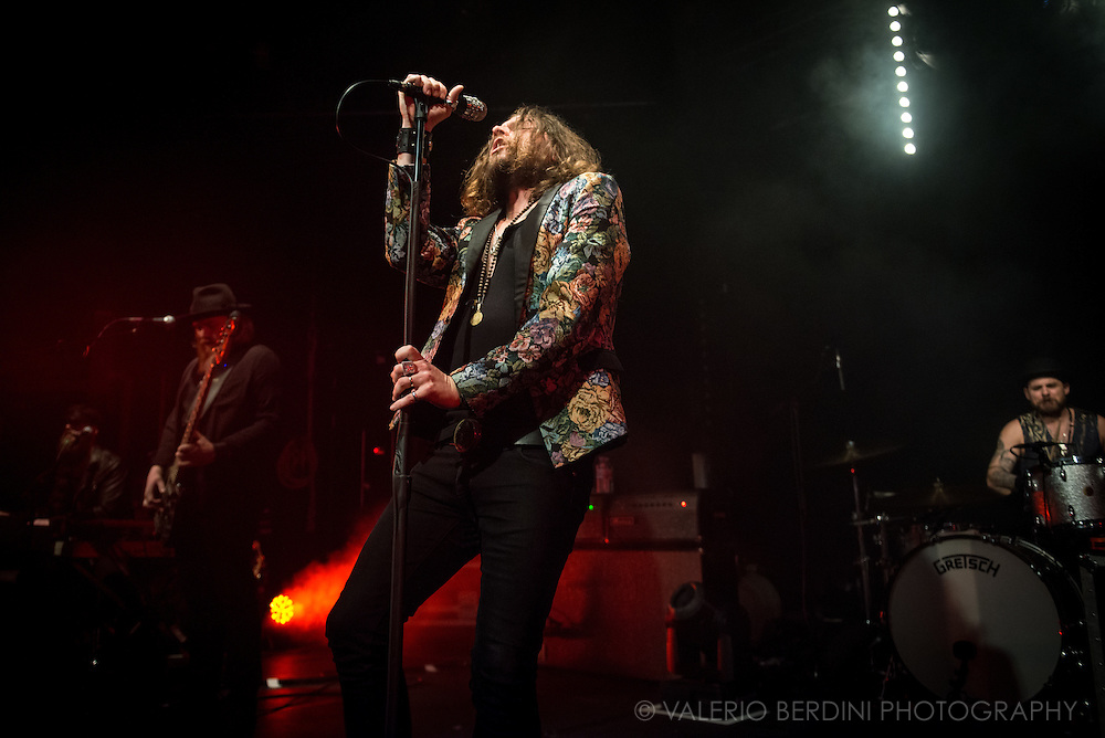 LA Hard rock band, Rival Sons live at the Cambridge Junction on 1 Feb 2017