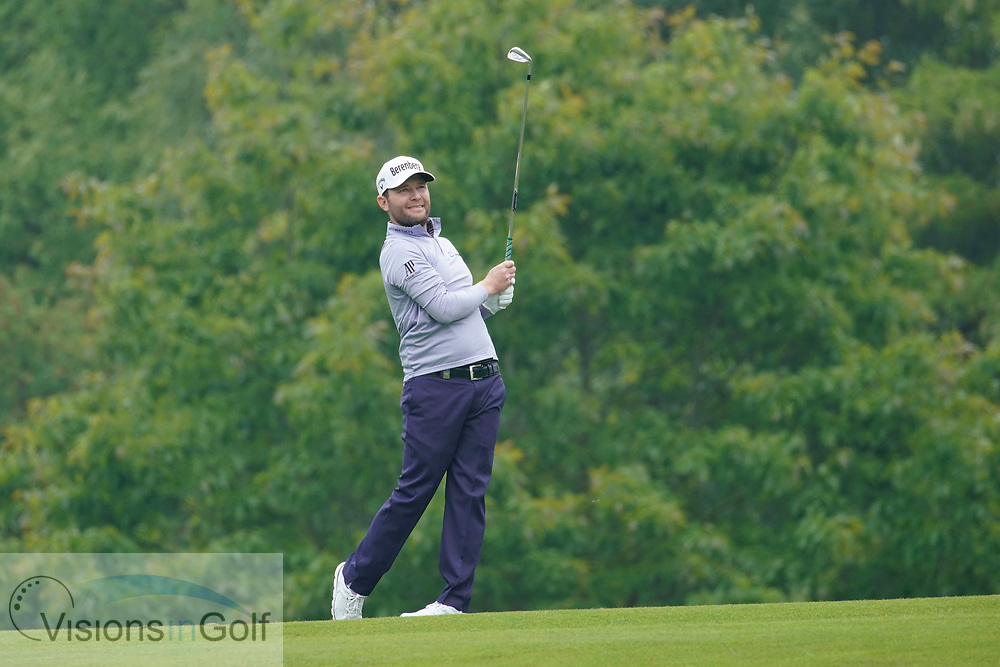 Branden Grace<br /> On the first day