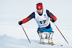 BYCHENOK Alexey, RUS, Long Distance Cross Country, 2015 IPC Nordic and Biathlon World Cup Finals, Surnadal, Norway