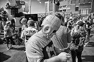 Tailgating in Lambeau Field in Green Bay,  Wisconsin Sunday, Sept. 10, 2017