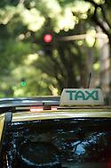 Taxi, Rio de Janiero, Brazil.