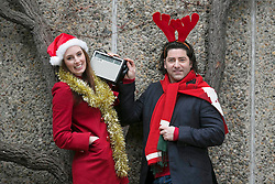Repo Free: 27 November 2013<br /> Fair City actress Aoibheann McCaul is pictured with Singer Brian Kennedy at launch of Christmas FM, returning tomorrow 28th November to sprinkle lots of festive cheer and seasonal goodwill across Ireland in the run up to Christmas. From now until the 26th of December tune in to hear a host of very familiar radio voices who will be volunteering their time to bring you round-the-clock Christmas tunes and festive updates. This year, Christmas FM will be raising awareness and funds for Aware, the national organisation providing support, information and education services around depression to individuals, families and communities throughout Ireland. With every text sent, &euro;2 is donated to Aware, so get listening and get texting. <br /> Log onto www.christmasfm.com to listen live or to find your local frequency in your area. Pic Andres Poveda<br /> <br /> Follow the station on Facebook at www.facebook.com/christmasfm <br /> <br /> <br /> For further information, please contact:<br /> Breda Brown / Ailbhe Byrne<br /> Unique Media<br /> Tel: 01 522 5200 or 087 2487120 (BB)