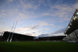 A general view of Ashton Gate - Photo mandatory by-line: Dougie Allward/JMP - Mobile: 07966 386802 - 17/04/2015 - SPORT - Rugby - Bristol - Ashton Gate - Bristol Rugby v Jersey - Greene King IPA Championship