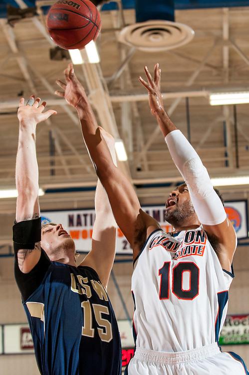 Dec. 14, 2013; Morrow, GA, USA; Clayton State player forward Omari Murray during game against Georgia Southwestern at Clayton State. CSU lost 62-56. Photo by Kevin Liles / kevindliles.com