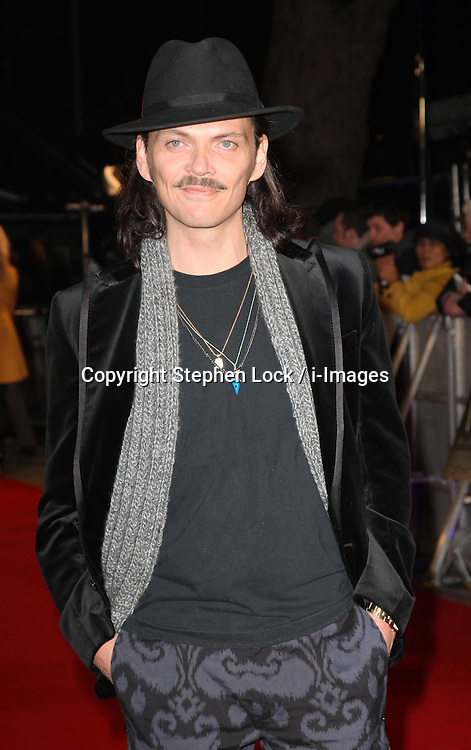 Matthew Williamson  arriving at the W.E. premiere in London, Wednesday 11th January 2012.  Photo by: Stephen Lock / i-Images