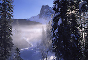 Emerald Lake Lodge, Mt. Burgess, Yoho National Park, B.C., Canada<br />