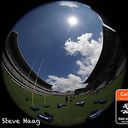 General views of the stadium during The Cell C Sharks training session at Jonsson Kings Park Stadium in Durban, South Africa. 6th February 2019 (Photo by Steve Haag)