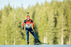 Olga Podchufarova of Russia competes during Women 7.5 km Sprint at day 1 of IBU Biathlon World Cup 2014/2015 Pokljuka, on December 18, 2014 in Rudno polje, Pokljuka, Slovenia. Photo by Vid Ponikvar / Sportida