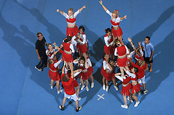 Smart, Slovenia during Mixed senior at second day of European Cheerleading Championship 2008, on July 6, 2008, in Arena Tivoli, Ljubljana, Slovenia. (Photo by Vid Ponikvar / Sportal Images).