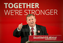 Scottish Labour deputy leader Alex Rowley campaigns at the Eric Liddell Centre in Edinburgh in the run up to the council elections on Thursday.<br /> <br /> © Dave Johnston/ EEm