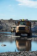 Earth moving mining trucks