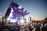 The main stage of the first annual Pulse Festival in St. Louis on June 9, 2012.