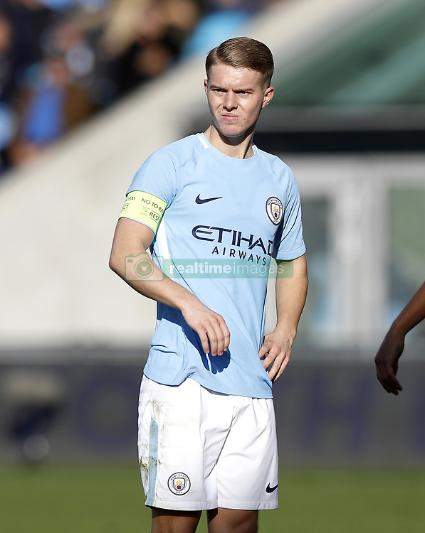 Manchester City's Jacob Davenport