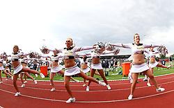 25.07.2010, Wetzlar Stadion, Wetzlar, GER, Football EM 2010, Team Sweden vs Team France, im Bild Cheerleader,  EXPA Pictures © 2010, PhotoCredit: EXPA/ T. Haumer / SPORTIDA PHOTO AGENCY
