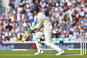 Keaton Jennings of England batting during day 3 of the 5th test match of the International Test Match 2018 match between England and India at the Oval, London, United Kingdom on 9 September 2018.