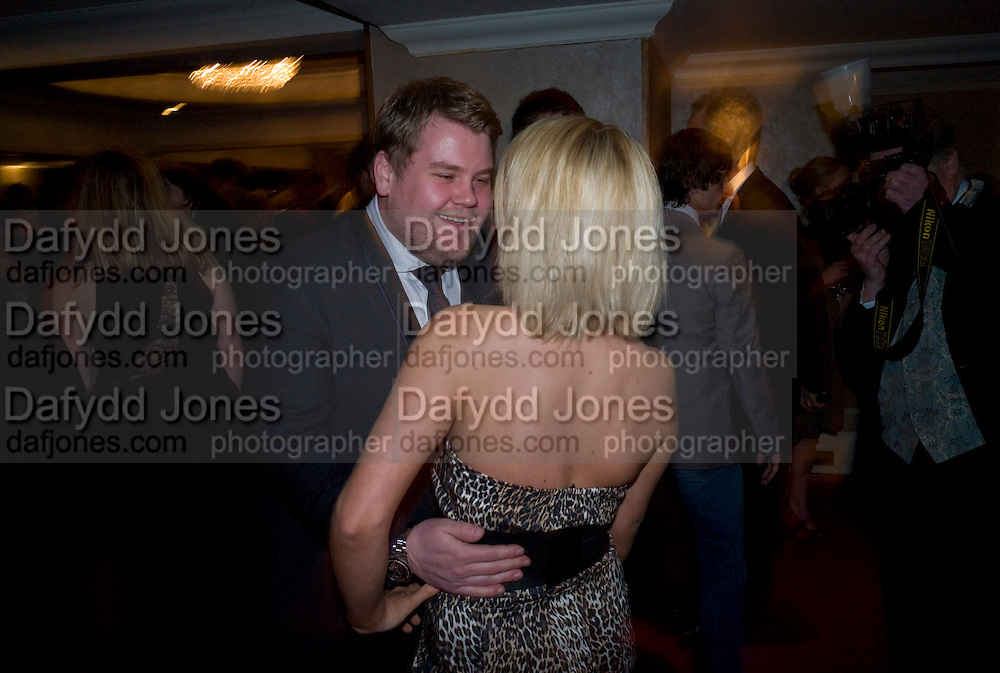 James Corden; Sheridan Smith, The Laurence Olivier Awards, The Grosvenor House Hotel. Park Lane. London. 8 March 2009 *** Local Caption *** -DO NOT ARCHIVE -Copyright Photograph by Dafydd Jones. 248 Clapham Rd. London SW9 0PZ. Tel 0207 820 0771. www.dafjones.com<br /> James Corden; Sheridan Smith, The Laurence Olivier Awards, The Grosvenor House Hotel. Park Lane. London. 8 March 2009