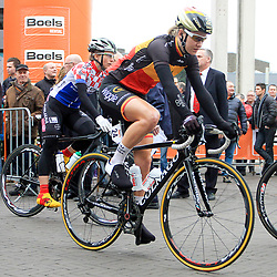 HOOGEVEEN cycling: The first manche of the UCI womens worldcup the Boels Rental ronde van Drenthe<br />