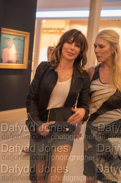 LAUREN PRAAKE, The Neo Romantic Art Gala in aid of the NSPCC. Masterpiece. Chelsea. London.  30 June 2015