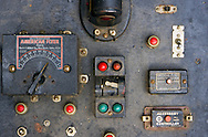 Rare Black American Flyer Transformer, Model 4B Train 100 Watt Circuit Breaker controller.