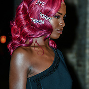 Leomie Anderson Arrivers Naked Heart Foundation, helping children with special needs hosts the London's Fabulous Fund Fair 2019 with LuisaViaRoma at the Roundhouse on 18 Feb 2019, London, UK.