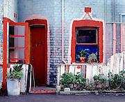 Al's Place, run down terrace house in Cooks Hill, Newcastle, Australia