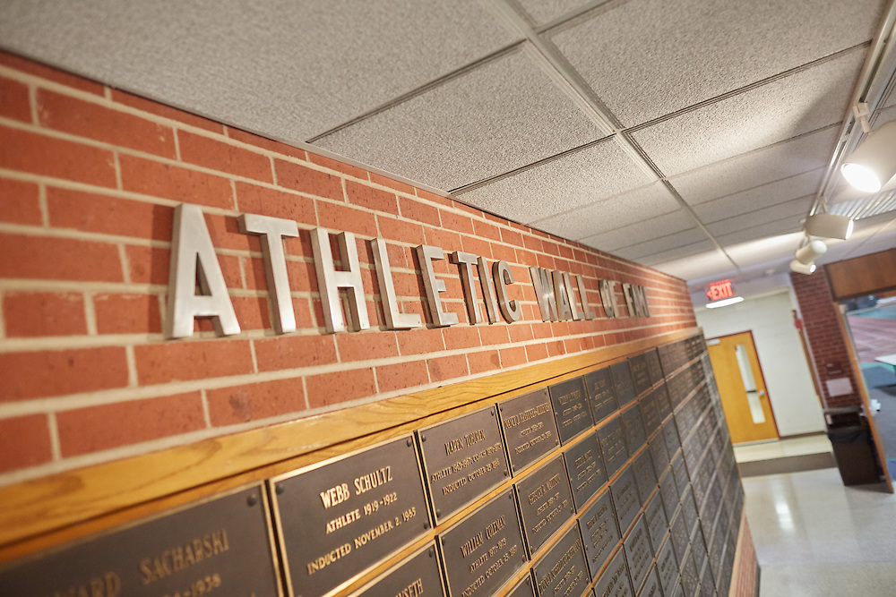 Location; Inside; Objects; Logo; People; Athlete Athletics; UWL UW-L UW-La Crosse University of Wisconsin-La Crosse; Signs logo Wall of Fame Athletics