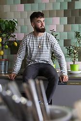Vegan chef Gaz Oakley, photographed at Kitchen Sync, Google HQ. London, June 07 2018.
