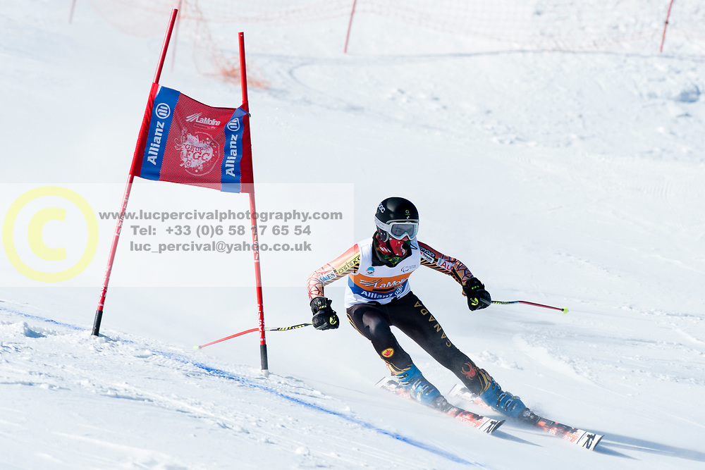 MARCOUX Mac, CAN, Giant Slalom, 2013 IPC Alpine Skiing World Championships, La Molina, Spain