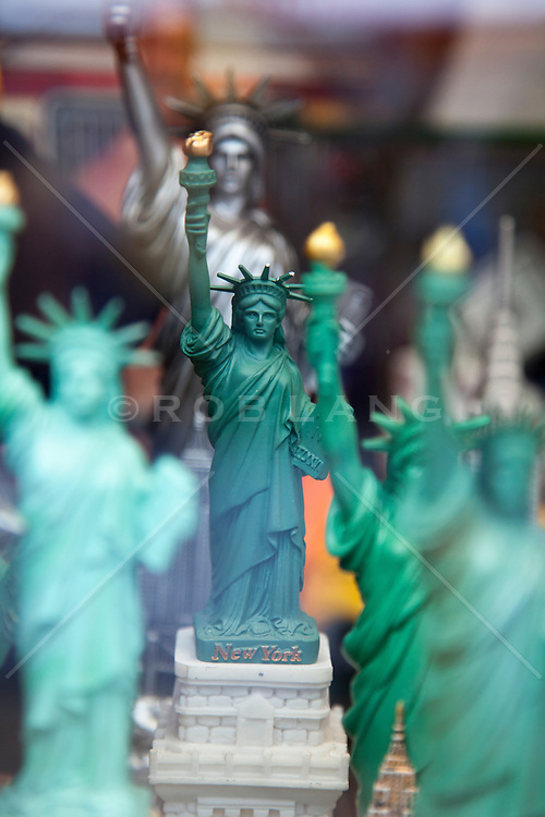 The Statue Of Liberty as a souvenir in various sizes