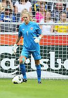 Fotball , EM , Norge - Tyskland 28.juli 2013 , kvinner ,  Sverige , Stockholm , Solna , europamesterskap, finale<br /> Ingrid Hjelmseth<br /> Foto: Ole Marius Fjalsett