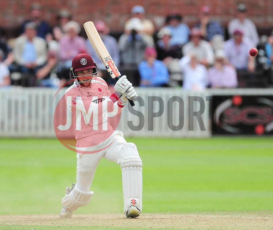 Ryan Davies of Somerset in action.  - Mandatory by-line: Alex Davidson/JMP - 05/08/2016 - CRICKET - The Cooper Associates County Ground - Taunton, United Kingdom - Somerset v Durham - County Championship - Day 2