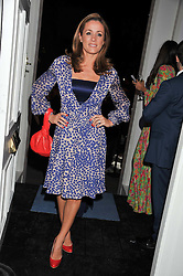 NATALIE PINKHAM at a reception hosted by Beulah London and the United Nations to launch Beulah London's AW'11 Collection 'Clothed in Love' and the Beulah Blue Heart Campaign held at Dorsia, 3 Cromwell Road, London SW7 on 18th October 2011.