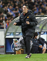 20090415: PORTO, PORTUGAL - FC Porto vs Manchester United: Champions League 2008/2009 – Quarter Finals – 2nd leg. In picture: Federico Macheda (Machester United). PHOTO: Manuel Azevedo/CITYFILES