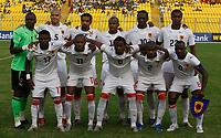 Photo: Steve Bond/Richard Lane Photography.<br />Egypt v Angola. Africa Cup of Nations. 04/02/2008. Angola line up