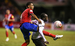 June 13, 2017 - San Jose, San Jose, Costa Rica - Jun 13 2017 : San Jose Costa Rica  Estadio Nacional ; Costa Rica V Trinidad y Tobago  qualifications to FIFA World Cup 2018 Russia (Credit Image: © Victor Baldizon_zuma Press/ZUMA Wire/ZUMAPRESS.com)