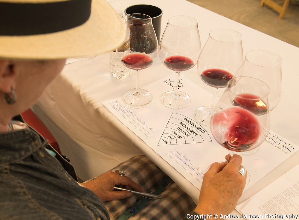 IPNC 2016 lunch with marché guest chef Karl Zenk, Keeler Estate Vineyard, Eola-Amity, Willamette Valley, Oregon
