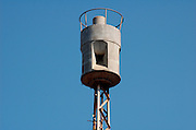 Air raid siren in the centre of Tel Aviv, Israel originally produced in germany