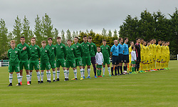 Republic of Ireland v Kosovo U16 Uefa development tournament Solar 21 Park, Mayo.<br /> Pic Conor McKeown